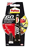 Pattex 60 Sekunden Universalkleber/Extra starker und wasserfester Kleber, 1 x 20 g