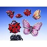 Gießform Marienkäfer-Schmetterling