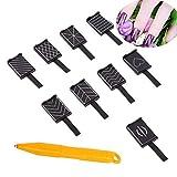 10 Pcs/ Set 9 Stile Katze Augen 3D Magnet Stick für Nagellack Gel Magische Nagel Werkzeug