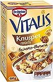 Dr. Oetker Vitalis Knusper Schoko-Banane, 600 g