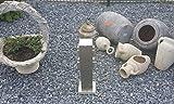 LEDAR Edelstahl 4 fach Steckdose Steckdosensäule Außensteckdose für Außen Garten IP44 spritwassergeschützt