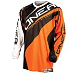 O'Neal Element Jersey RACEWEAR Trikot Orange Moto Cross Mountain Bike Enduro MTB MX DH FR, 0024R-4, Größe Large