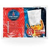 THE HEAT COMPANY Handwärmer XL | EXTRA WARM | Taschenwärmer | Wärmekissen | 24 Stunden Wärmedauer | 10 Stück