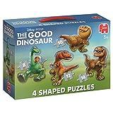 Jumbo Spiele 17480 - Good Dinosaur 4-in-1 Konturenpuzzle 8,10,12,14 Teile
