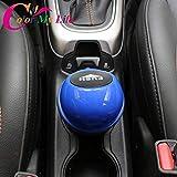 FASHLADY 1Set ABS Auto-Abfalleimer-Abfall-Staub Tür Storagebox für für Audi Q3 Q5 SQ5 Q7 A1 A3 A4 A4L A5 A6 A6L A7 S5 S6 A8: Rot