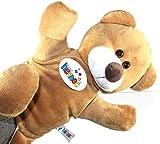 Ventilkappenkönig Kinder Plüsch Handpuppe Kuscheltier Stofftier Geschenk Puppe Theater Bear Bär 35cm