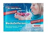 8x SONAX 04181000 WachsEntferner Tücher Trockentuch + Feuchttuch 9ml