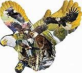 Adler im Licht (Konturenpuzzle)