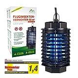 Gardigo Fluginsekten-Vernichter 50 m² UV-Licht Heimwerker Praxis Note 1,4