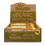 BodyMe Bio Vegane Protein Riegel | Roh Maca Zimt | 12 x 60g | Mit 3 Pflanze Proteine