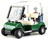 Golf & More Mini Golfcart mit Uhr,Golfuhr im kleinen Cart