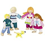 Goki 51582 Familie Puppets