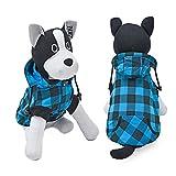 PAWZ Road Kapuzenpullis für Hunde, Hundemantel mit Kapuze, HundeBekleidung für große Hunde