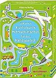 Kunterbunte Mitmach-Karten für das Handgepäck: 50 Karten mit abwischbarem Stift
