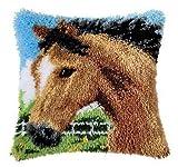 Vervaco PN-0014184 Knüpfkissen 3618 Pferd