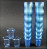 900 Schnapsbecher / Medikamentenbecher / Farbe: Hellblau / 2cl – 3cl einweg Schnapsgläser / Exklusives Angebot der Marke EVENTpac