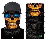 ILOVEDIY Multifunktionstuch Totenkopf Maske Clown Halstuch Halloween Kostüme Motorrad Ski Jagen Fahrrad (#6)