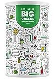 Big Greens Superfood Pulver | 600 g | 26 Superfoods harmonische kombiniert wie Gerstengras, OPC, Acerola, Reishi, Chlorella | vegan, ohne Laktose & Soja | HERGESTELLT IN DEUTSCHLAND | 1-Monatsvorrat