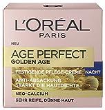 L'Oreal Paris Age Perfect Golden Age Nachtpflege, mit Neo-Calcium und Pfingstrosen-Extrakt, für einen rosig-frischen Teint, 50 ml