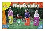 Playfun 7408881 - Hüpfsäcke, 4-Er Set, ca. 72 x 52 cm
