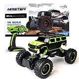 Maximum RC Ferngesteuertes Auto für Kinder - 4WD Monstertruck - XL RC Auto für Kinder ab 8 Jahren - Rock Crawler (grün)