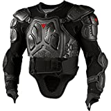 MOMIN-sport Lokomotive Schutzjacke Dirt Bike Körper Brust Spine Protector Rüstung Weste Schutzausrüstung für Dirtbike Bike Motorrad Motocross Ski Snowboard Schutzausrüstung (Größe : XXL)