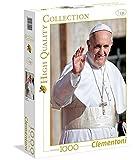 Clementoni 39299.5 - 1000 T Collection Papst Franziskus, Klassische Puzzle