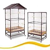 Montana Cages | Voliere, Zimmervoliere, Käfig VILLA CASA 90 - Choco/Vanilla versandkostenfrei