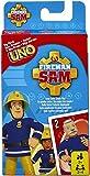 Mattel Spiele FMW18 Uno Junior Feuerwehrmann Sam