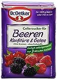 Dr. Oetker Gelierzucker für Beerenkonfitre, 500 g