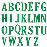 Winkey Formen, 5cm groß Big Alphabet Buchstaben Formen Schablonen Metall für Heimwerker Scrapbooking