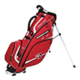 2015 Wilson Nexus II Stand Bag Mens Golf Carry Bag 5-Way Divider Grey/Red/White