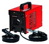 Einhell Elektro-Schweißgerät TC-EW 150 (230 V, 40-80 A, Elektroden-Durchmesser 1.6-2.5 mm, stufenlos regelbarer Schweißstrom, Thermowächter mit Kontrollleuchte, Masseklemme, Elektrodenhalter)