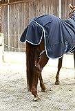 Kerbl 328667 Outdoordecke Protect HighNeck, marineblau/hellblau