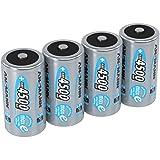 ANSMANN LSD Baby C Akkubatterien, 1,2V / Typ 4500mAh / NiMH Hochleistungsakkus mit geringer Selbstentladung & hoher Langlebigkeit - ideal für Fernbedienung,  Spielzeug, Werkzeug, uvm., 4 Stück
