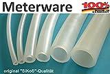 Silikonschlauch - 10x12mm - Meterware - Lebensmittelqualität
