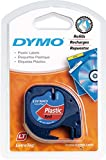 DYMO LetraTAG 91223 Plastikband - Rot - Rolle (1,2 cm x 4 m) - 1 Rolle(n) (S0721680)