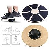 Emooqi Balance Board für Fitness und Spielspaß, Fitness Board Therapiekreisel zur Steigerung der Koordination, Gleichgewicht für Beine, Arme und Gesäß tragend bis zu 250kg