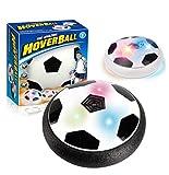 Vicstar Air Power Fußball HoverBall Indoor Fußball mit LED-Leuchten Hover Ball mit Schaum Stoßfänger für Kinder,Perfekt zum Spielen in Innenräumen ohne Möbel oder Wände zu beschädigen