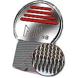 Original patentierter Läusekamm NitFree entfernt sicher Läuse, Eier und Nissen