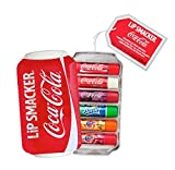 Lip Smacker Coca-Cola Geschenkbox (Coca-Cola Classic, Coca-Cola Vanilla, Sprite, Fanta Orange, Fanta Strawberry, Fanta Pineapple), 6 Stück