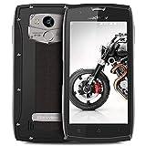 Blackview BV7000Pro Outdoor Smartphone, 64GB ROM + 4GB RAM IP68 Smartphone Wasserdichte Stoßfest Staubdicht, 13MP + 8MP Kameras mit 5.0 Zoll Touc Play,Silber
