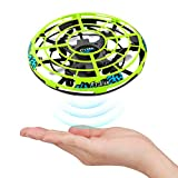 Baztoy UFO Mini Drohne, Kinder Spielzeug RC Quadcopter Infrarot-Induktions-Flying Ball mit Fernbedienung Fliegendes Spielzeug Geschenke für Jungen Mädchen Indoor Outdoor Fliegender Ball