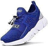 ASHION Kinder Turnschuhe Jungen Sport Schuhe Mädchen Kinderschuhe Sneaker Outdoor Laufschuhe für Unisex-Kinder(F-Blau,37 EU)