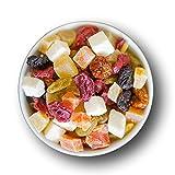 1001 Frucht | Hausgemacht Fruchtmischung - fein - kandiert - Rohkost-Qualität und ideal für Sportler 'PREMIUM QUALITÄT by 1001Frucht' Made in Regensburg. - 1000 GR