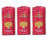 3x 500 g Set Reisnudeln dick aus Griechenland Hartweizennudeln Hartweizen griechische Reis Nudeln 1,5 kg + Probiersaachet Olivenöl aus Kreta a 10 ml