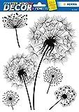HERMA Fensterbild DECOR'Pusteblume', DIN A4, schwarz/weiß