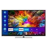 MEDION X14908 123,2 cm (49 Zoll) UHD Fernseher (Smart-TV, 4K Ultra HD, Dolby Vision HDR, Netflix, Prime Video, WLAN, HD Triple Tuner, DTS Sound, PVR, Bluetooth)