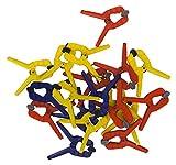 Connex COXT864425 Feder-Spannzwingen 25 mm, 20 Stück