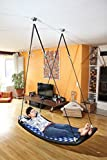 Relax-Schaukel - LifestylePlus EL (extra lang) / Maße: 166 x 66 x 22 cm / Gewicht: 10 kg / Farbe: silber/camel